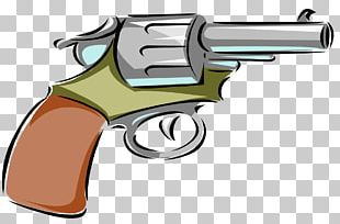 Firearm Cartoon Drawing Pistol PNG