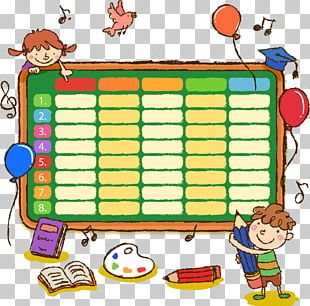 School Timetable Student Drawing Primary Education PNG