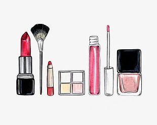 Cartoon Cosmetics PNG