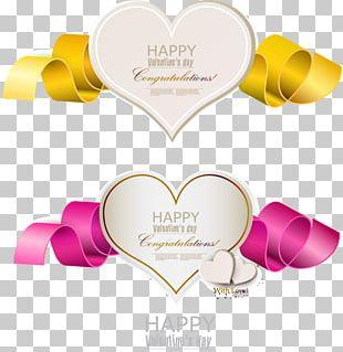 Valentine's Day Heart Illustration PNG