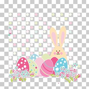 Easter Bunny European Rabbit Euclidean Easter Egg PNG