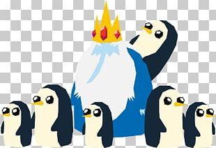 Ice King King Penguin Bird PNG