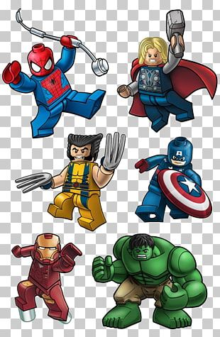 Lego Marvel Super Heroes Wolverine Deadpool Lego Marvel's Avengers Captain America PNG
