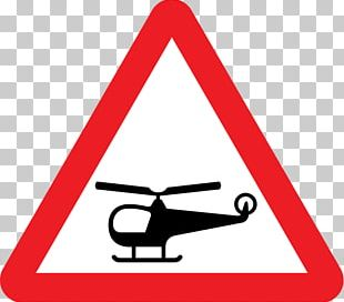 Helicopter Traffic Signs Regulations And General Directions Road Signs In The United Kingdom PNG