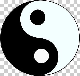 Yin And Yang Symbol The Book Of Balance And Harmony Taoism PNG