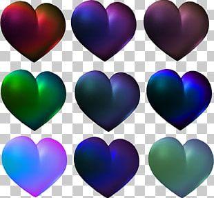 Desktop Love Heart Painting PNG