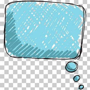 Blue Speech Balloon Dialogue PNG