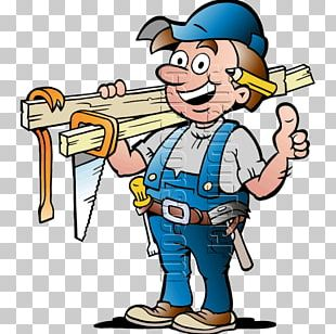 Carpenter Cartoon Drawing PNG