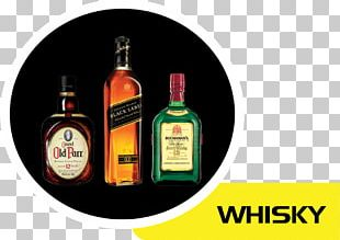 Liqueur Glass Bottle Whiskey Wine PNG