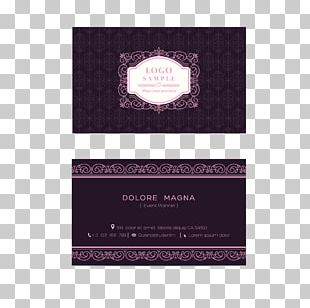 Business Card Template Graphic Design PNG