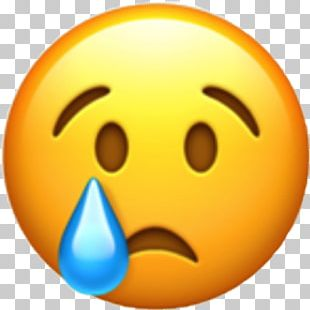 World Emoji Day WhatsApp Emoticon Crying PNG