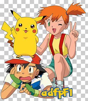 Pokémon X And Y Misty Ash Ketchum Pikachu Pokémon Adventures PNG