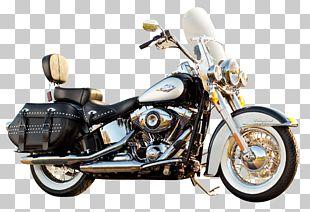 Softail Harley-Davidson Motorcycle Components Saddlebag PNG
