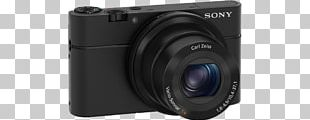 Digital SLR Sony Cyber-shot DSC-RX100 Camera Lens Point-and-shoot Camera PNG