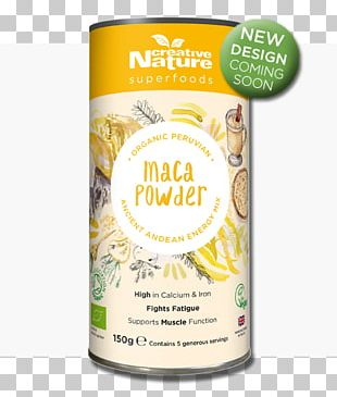 Organic Food Dietary Supplement Superfood Maca PNG