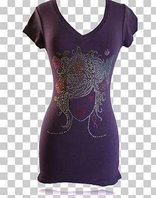 T-shirt Sleeve Dress Neck PNG