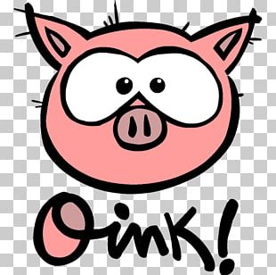 Logo Oink Oink Domestic Pig P I G PIG Little Bit PNG