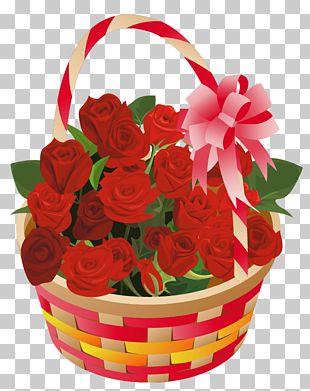Rose Basket PNG