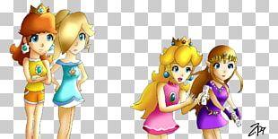 Princess Daisy Rosalina Princess Peach The Legend Of Zelda Princess Zelda PNG