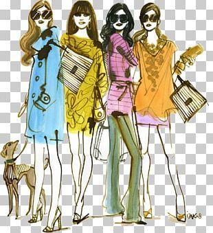 Fashion Illustration Illustrator Henri Bendel PNG