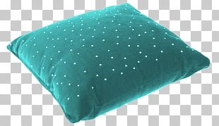 Cushion Throw Pillows Turquoise PNG