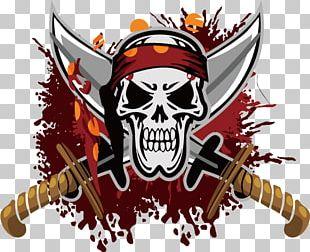 Logo Jolly Roger Piracy Flag PNG