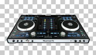 Numark Industries DJ Controller Disc Jockey Audio Djay PNG