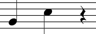 Quarter Note Rest Musical Note Whole Note Half Note PNG
