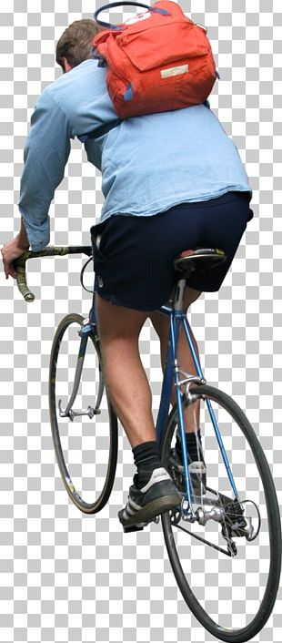 Bicycle People Cycling Rendering PNG