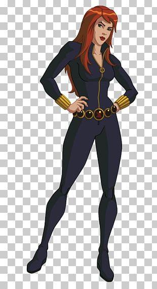 Scarlett Johansson Black Widow Clint Barton The Avengers Marvel Cinematic Universe PNG