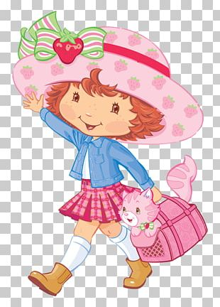 Strawberry Shortcake Party Convite PNG