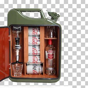 Distilled Beverage Beer Jerrycan Bottle Minibar PNG