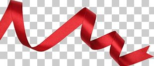 Red Ribbon Gift New Year Photography PNG