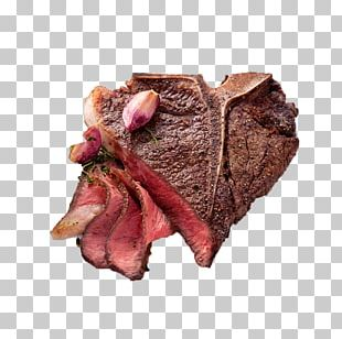 Beefsteak European Cuisine Venison Red Meat PNG