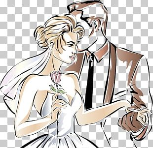 Couple Marriage PNG