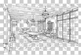 Architecture Furniture Sketch PNG