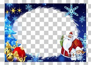 Christmas Ornament Santa Claus Frames Snegurochka Ded Moroz PNG