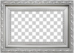 Frame Silver Icon PNG