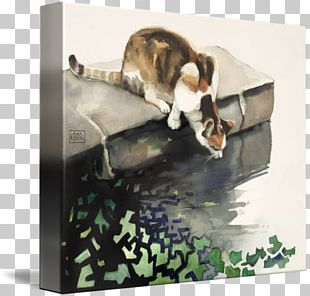 Canvas Print Printing Painting Whiskers PNG