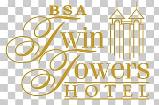 BSA Twin Towers Logo Hotel Brand Saint Francis PNG