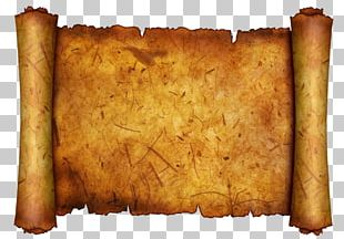 Kraft Paper Quill Scroll Parchment PNG