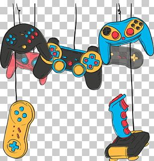 Video Game Game Controller Joystick Online Game PNG