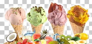 Gelato Ice Cream Cones Sundae Frozen Yogurt PNG