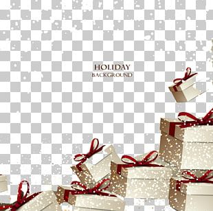 Christmas Gift Gift Card Voucher PNG