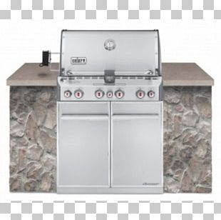 Barbecue Weber Summit S-660 Weber-Stephen Products Natural Gas Propane PNG