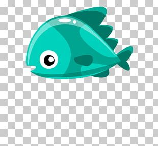 Green Fish PNG