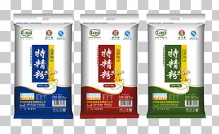 Packaging And Labeling Food Packaging Flour Bag PNG
