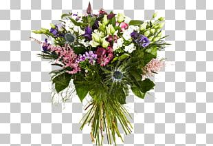 Flower Bouquet Cut Flowers Floristry Rose PNG