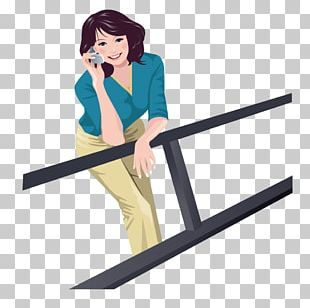 Mobile Phones Female Telephone Illustration PNG