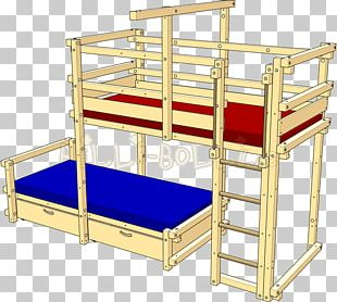 Bed Frame Bunk Bed Furniture Cots PNG